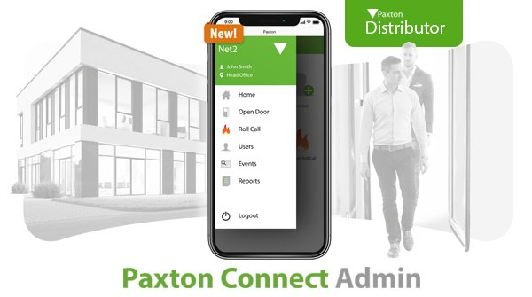 Paxton Connect Admin