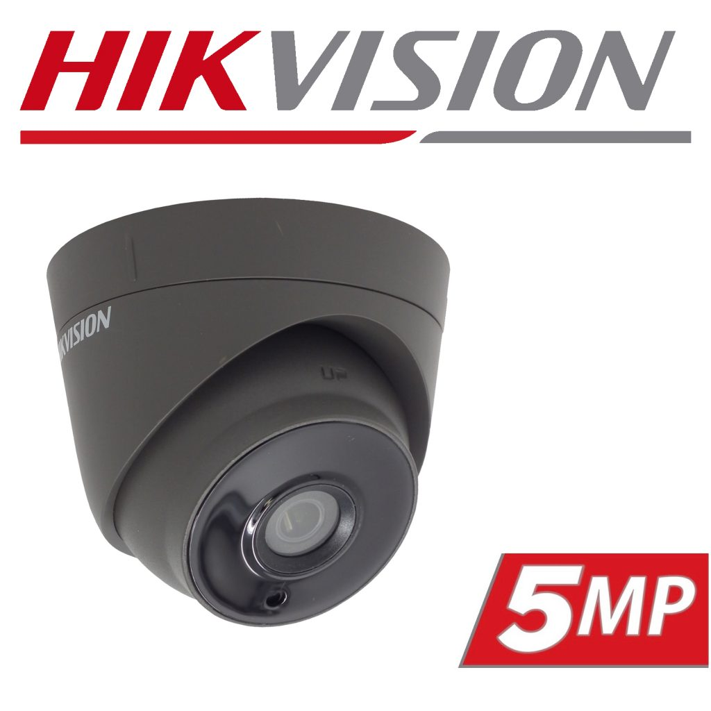 Hikvision POC Turret Camera Now Available in Dark Grey